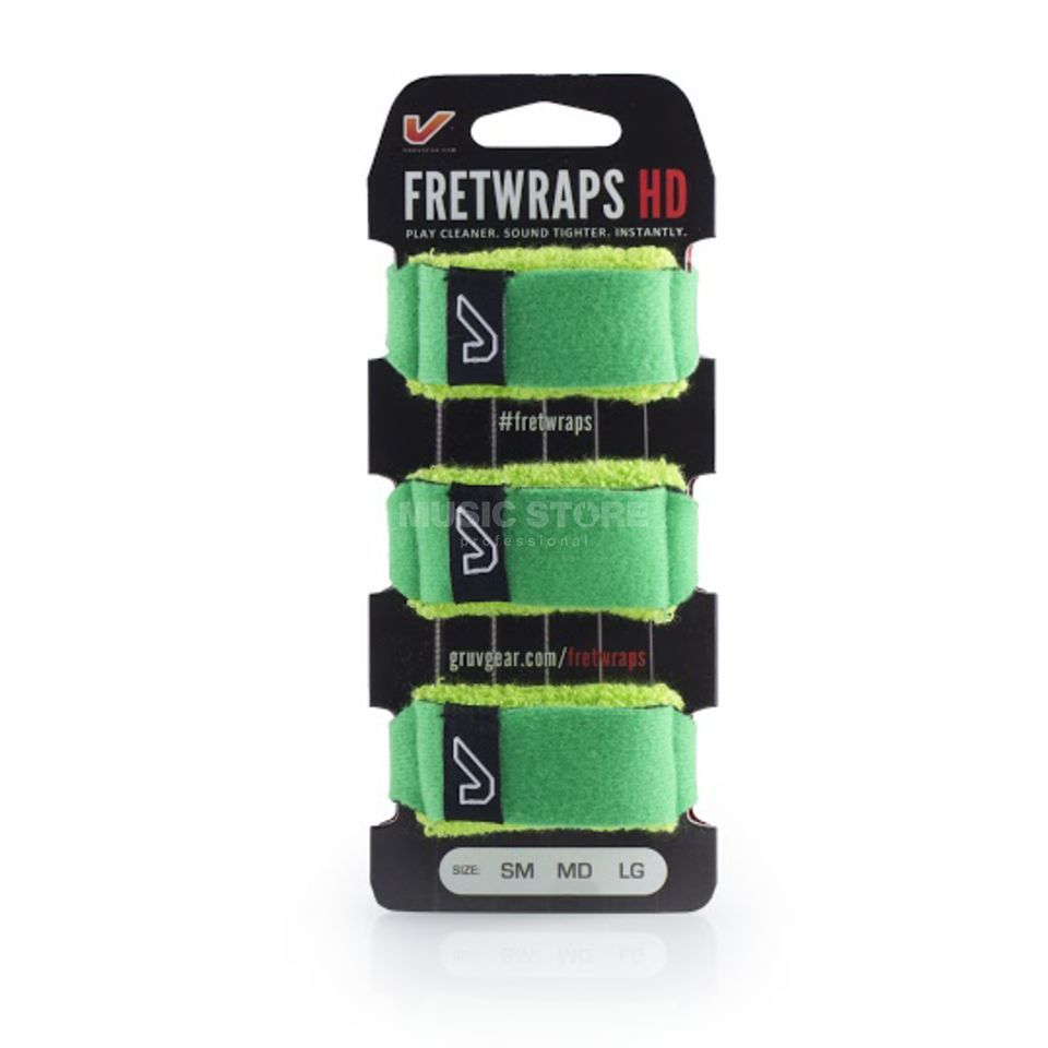 Gruv Gear Fret Wraps HD Leaf Green Large, 3er Pack Produktbild