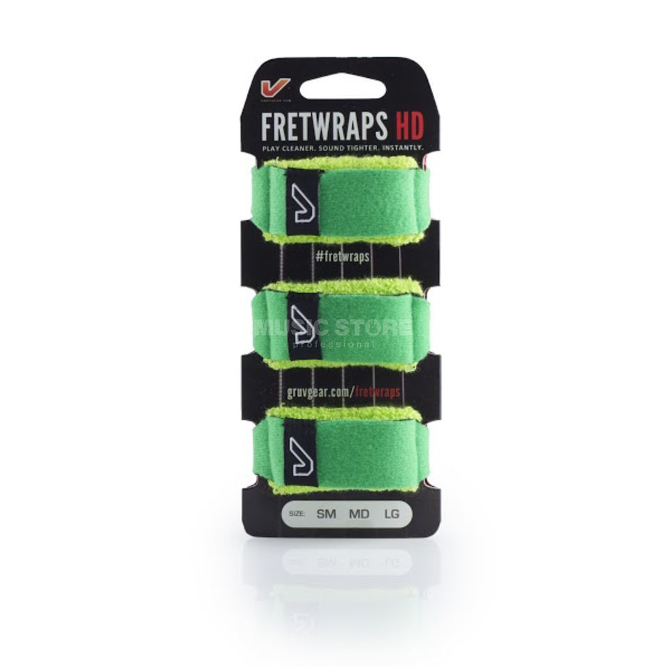 Gruv Gear Fret Wraps HD Leaf Green XL, 3er Pack Produktbild