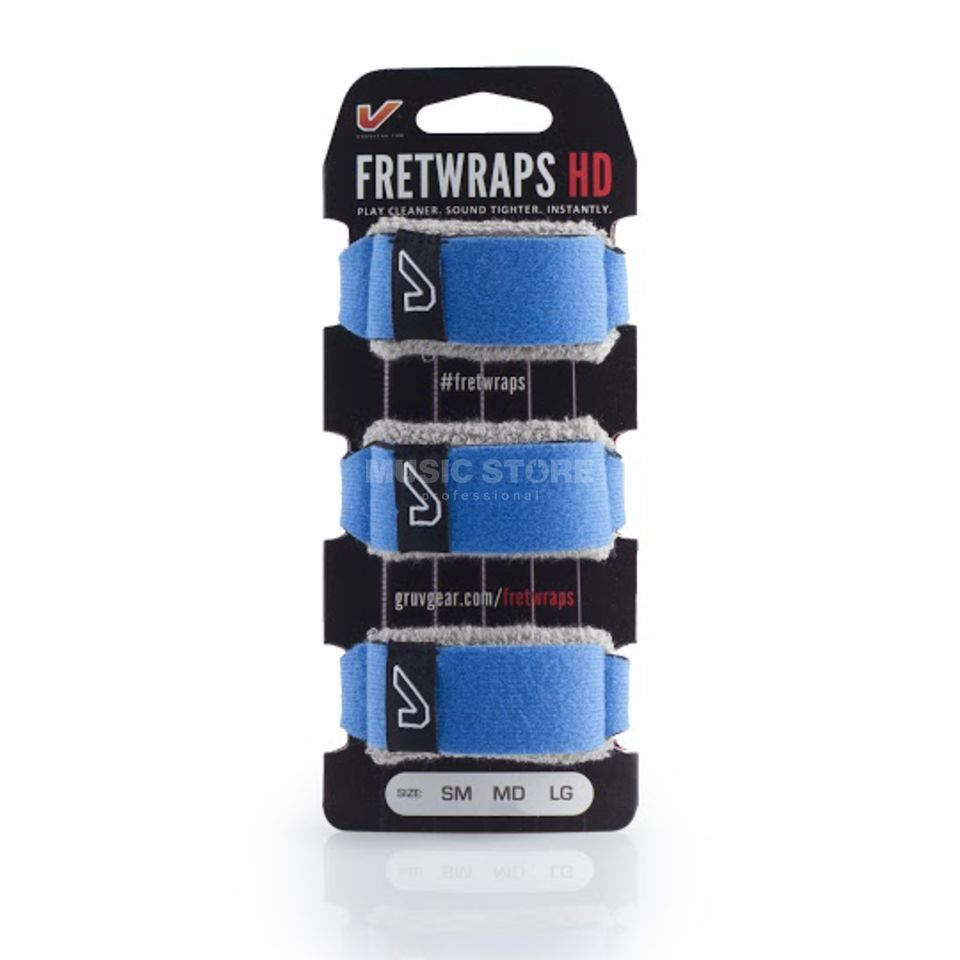 Gruv Gear Fret Wraps HD Sky Blue XL, 3er Pack Produktbild