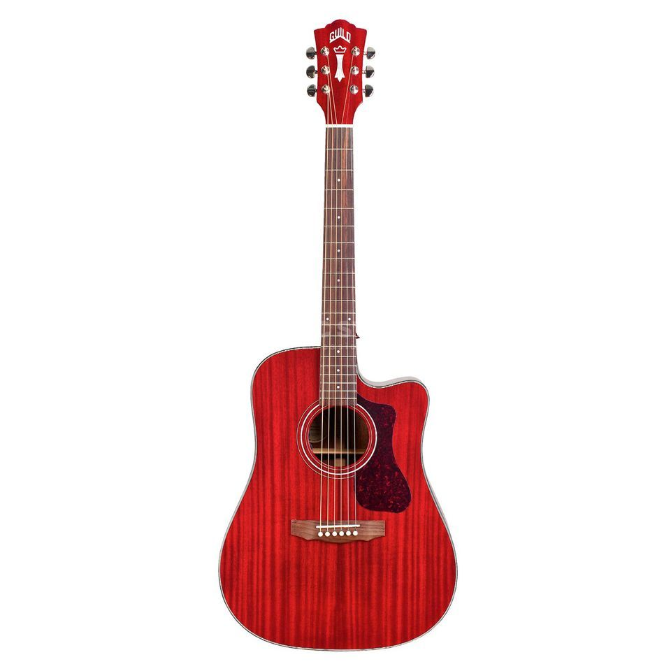 Guild Westerly M-120E CR Cherry Red Produktbillede