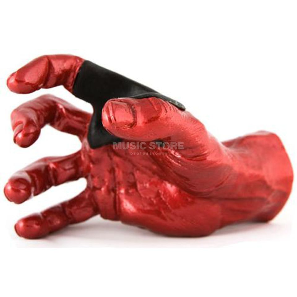 Guitar Grip GS Hanger Hand Red Metallic Righthand Produktbild