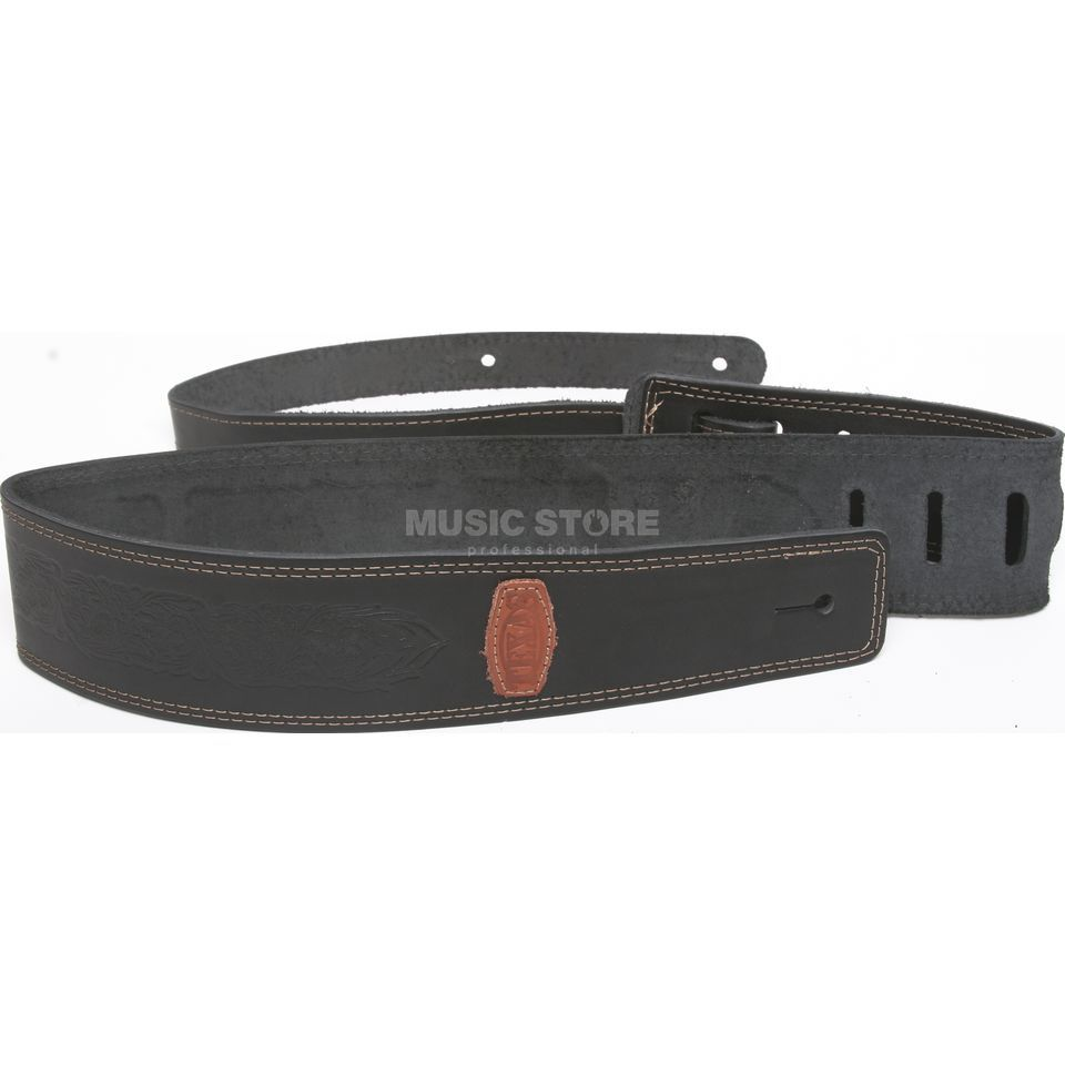 Guitar Products 2019 Strap 6cm wide, thick Leather Produktbillede
