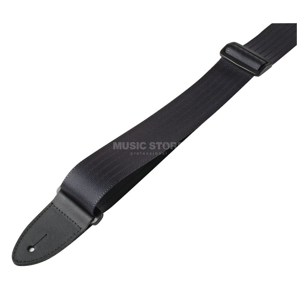 Guitar Products 239XL Nylon Seatbelt Strap 5cm,  extra long, black Produktbillede