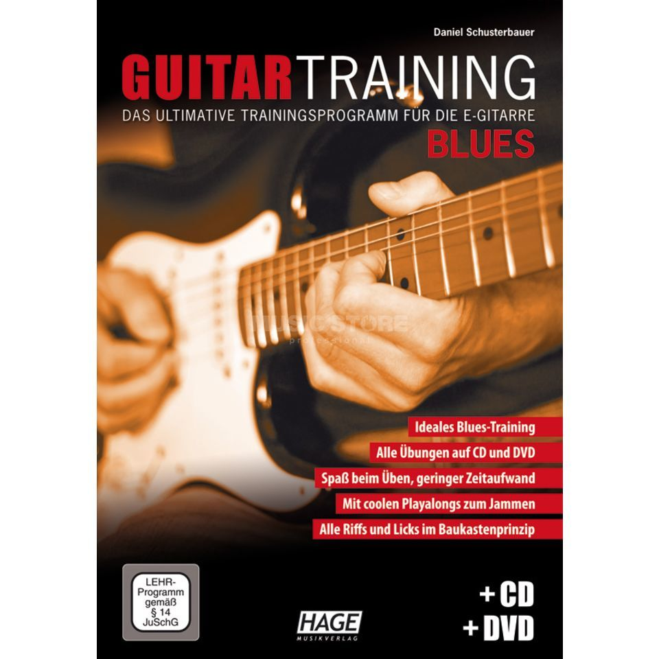 Hage Musikverlag Guitar Training: Blues Produktbild