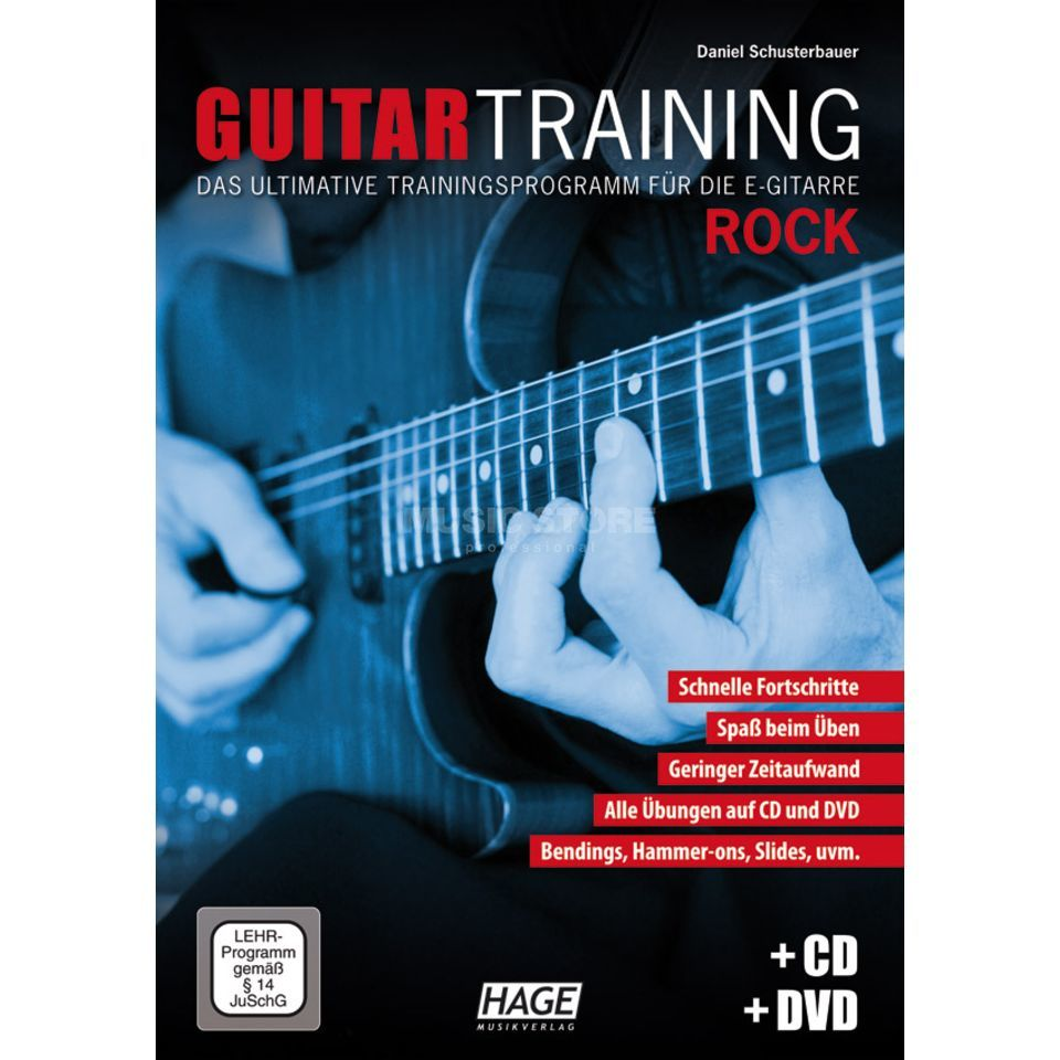 Hage Musikverlag Guitar Training: Rock Produktbild