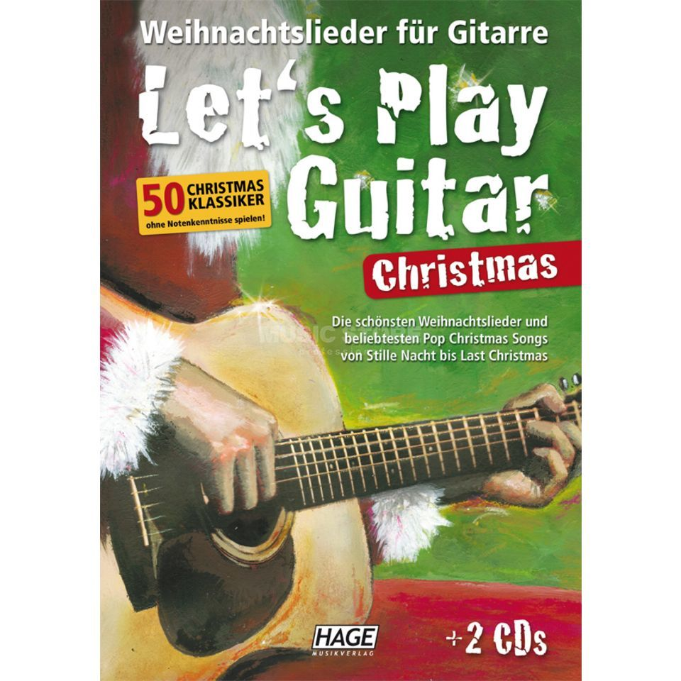 Hage Musikverlag Let's Play Guitar Christmas Изображение товара