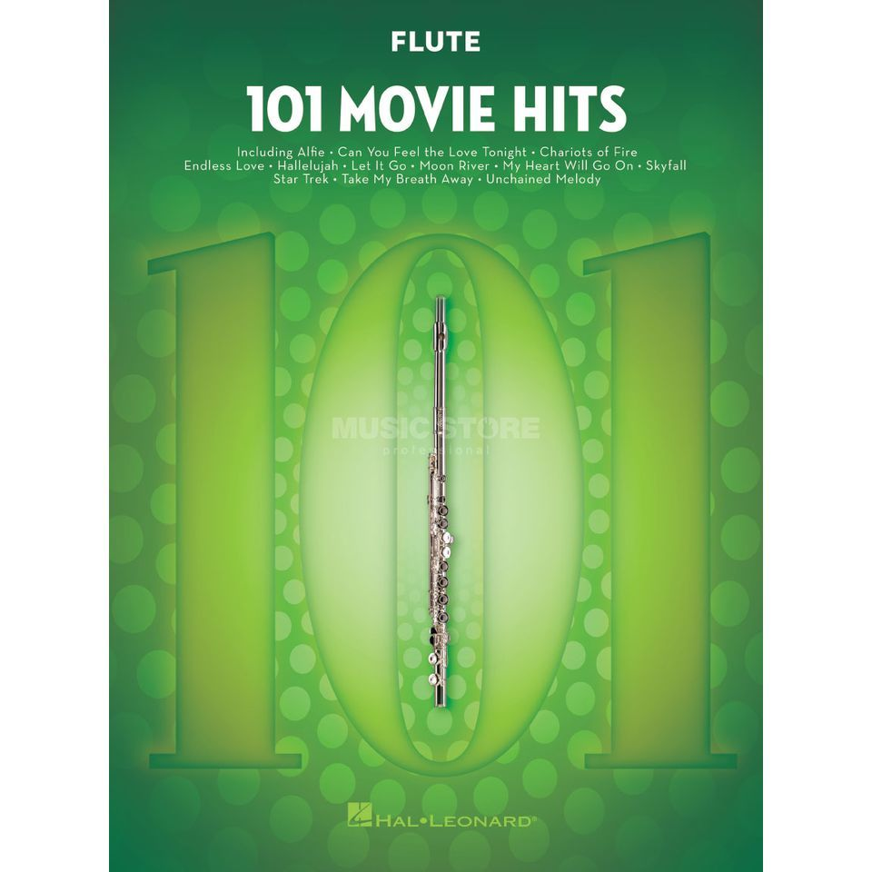 Hal Leonard 101 Movie Hits For Flute Produktbillede