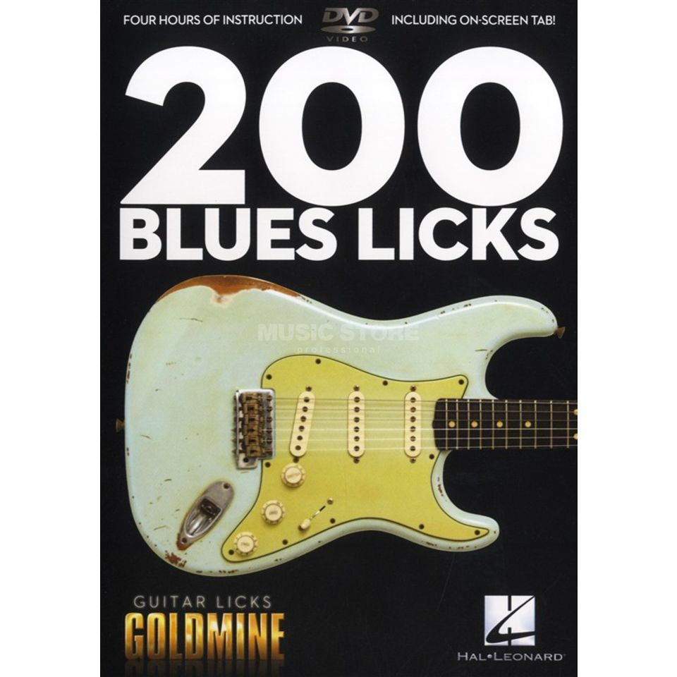 Hal Leonard 200 Blues Licks DVD Produktbillede
