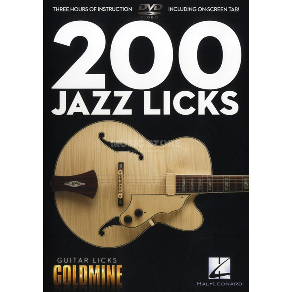Hal Leonard 200 Jazz Licks DVD Produktbild