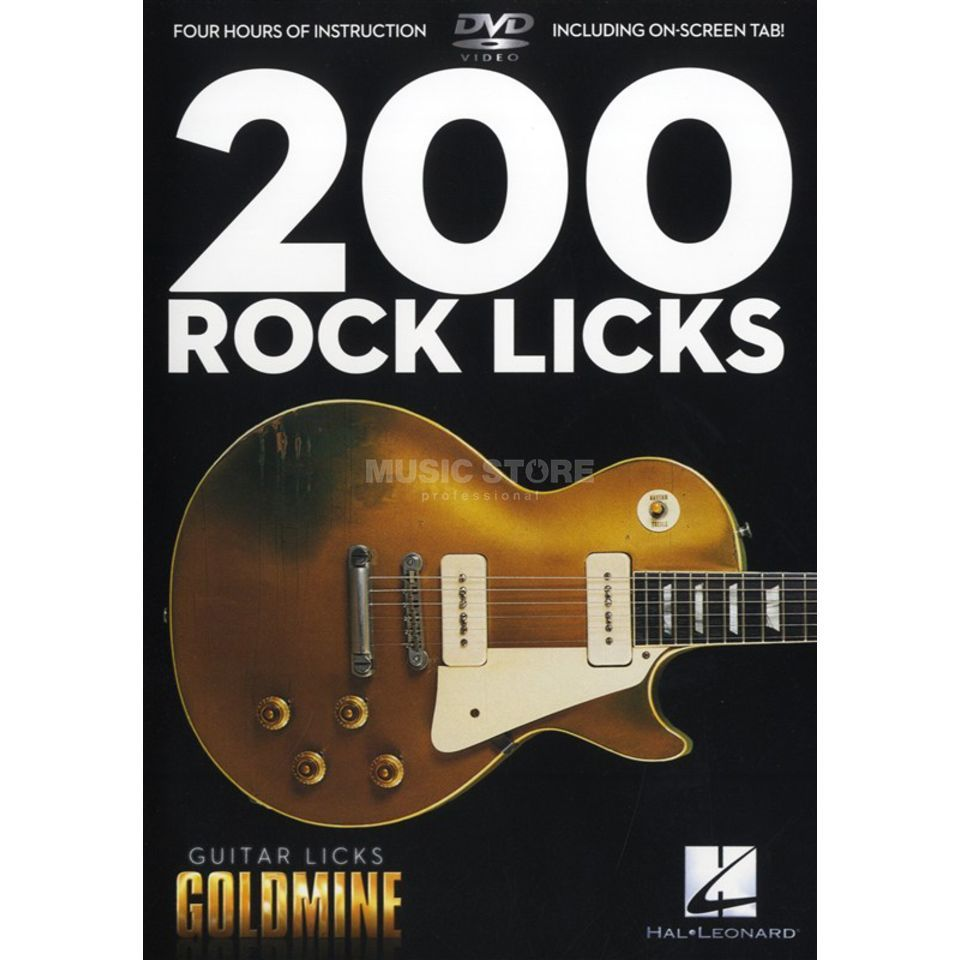 Hal Leonard 200 Rock Licks DVD Produktbild