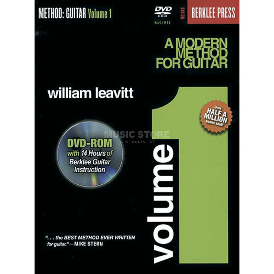 Hal Leonard A Modern Method for Guitar 1 William Leavitt,inkl. DVD Produktbillede