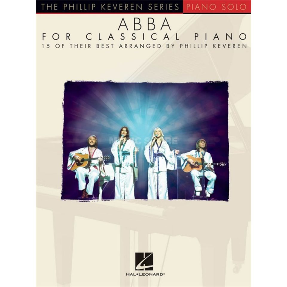 Hal Leonard ABBA For Classical Piano Product Image