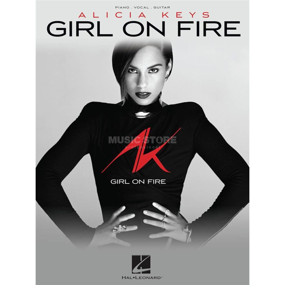 Hal Leonard Alicia Keys: Girl On Fire Produktbillede