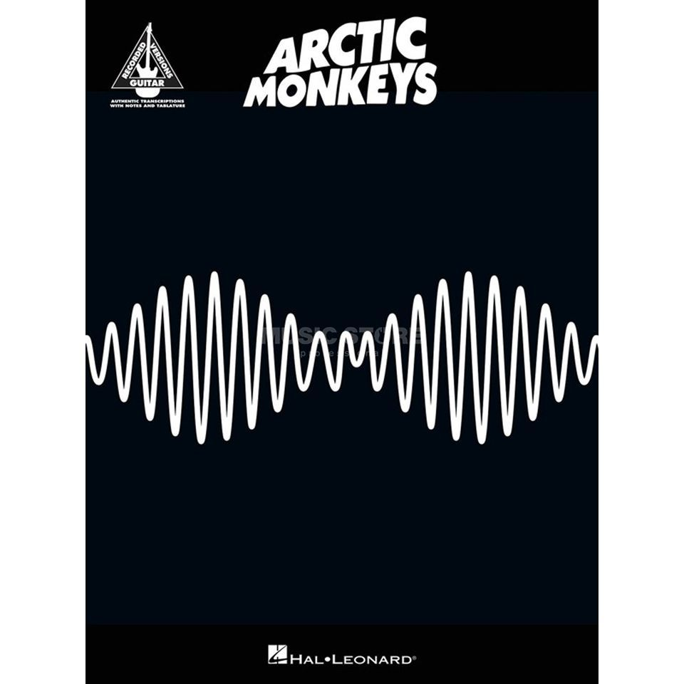 Hal Leonard Arctic Monkeys AM Guitar Recorded Version TAB Produktbild