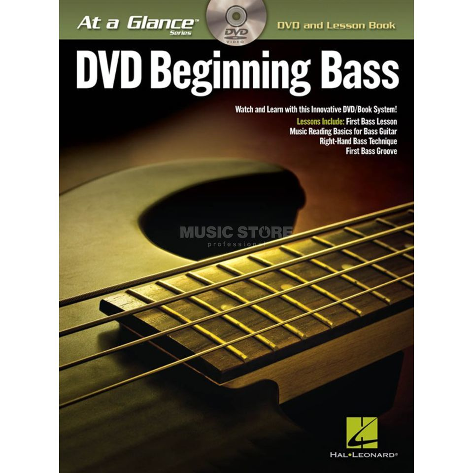 Hal Leonard At A Glance: Beginning Bass Bass TAB Produktbild