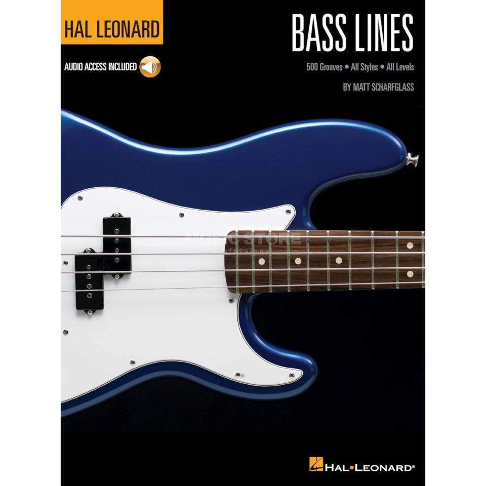 Hal Leonard Bass Method: Bass Lines Product Image