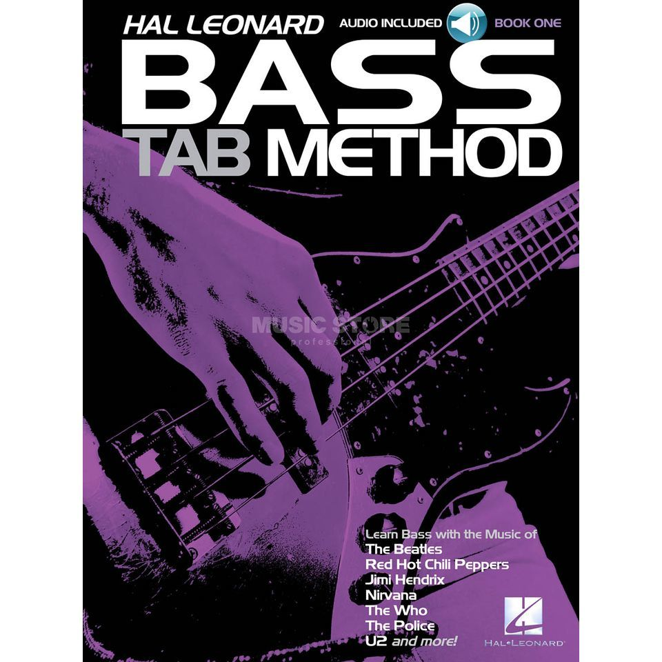 Hal Leonard Bass Tab Method Buch/CD Produktbillede