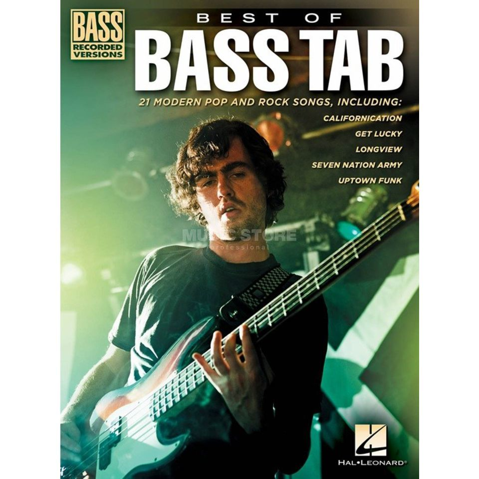 Hal Leonard Best Of Bass TAB Bass Recorded Versions Produktbillede