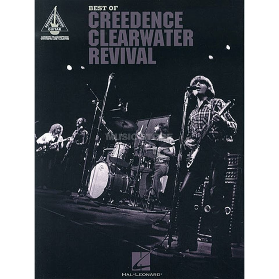 Hal Leonard Best Of CCR Guitar Recorded Versions TAB Produktbild