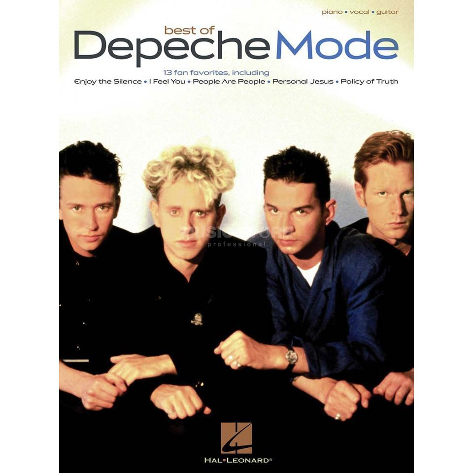 Hal Leonard Best Of Depeche Mode PVG Produktbild