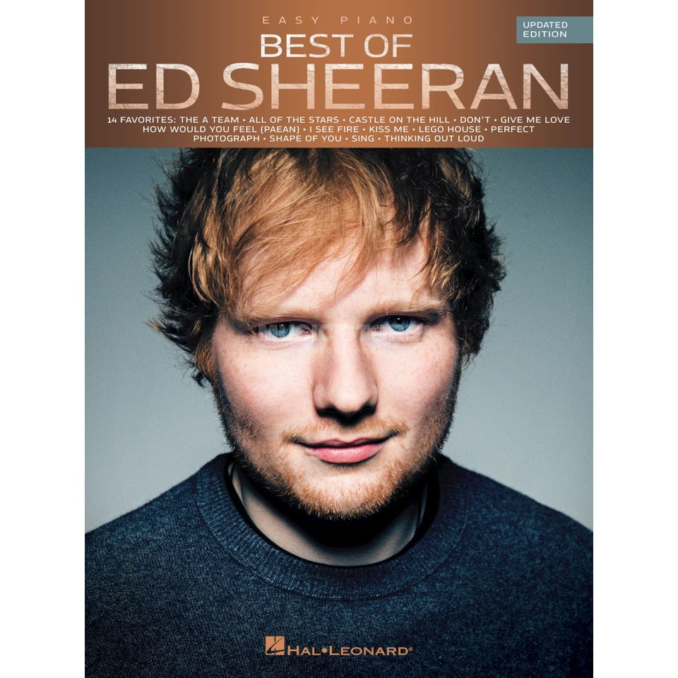 Hal Leonard Best Of Ed Sheeran Product Image