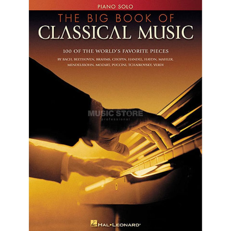 Hal Leonard Big Book Of Classical Music Piano solo Produktbild