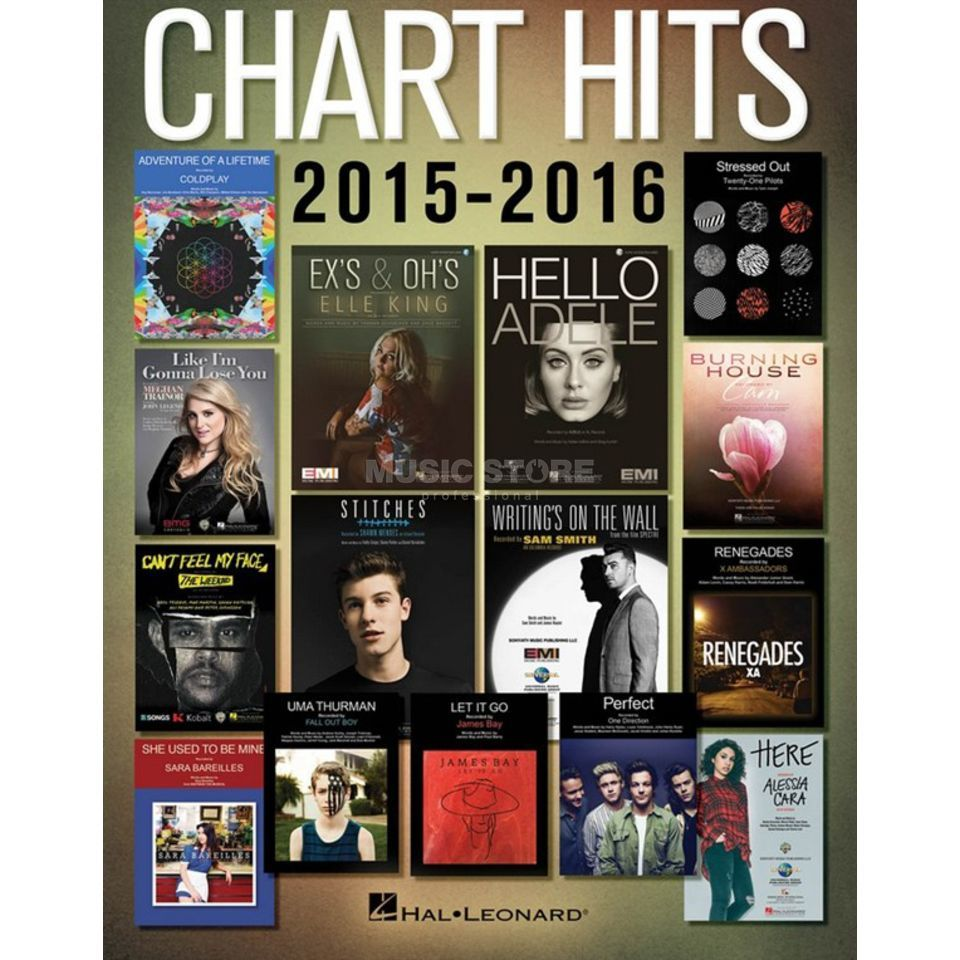 Hal Leonard Chart Hits Of 2015-2016 Product Image