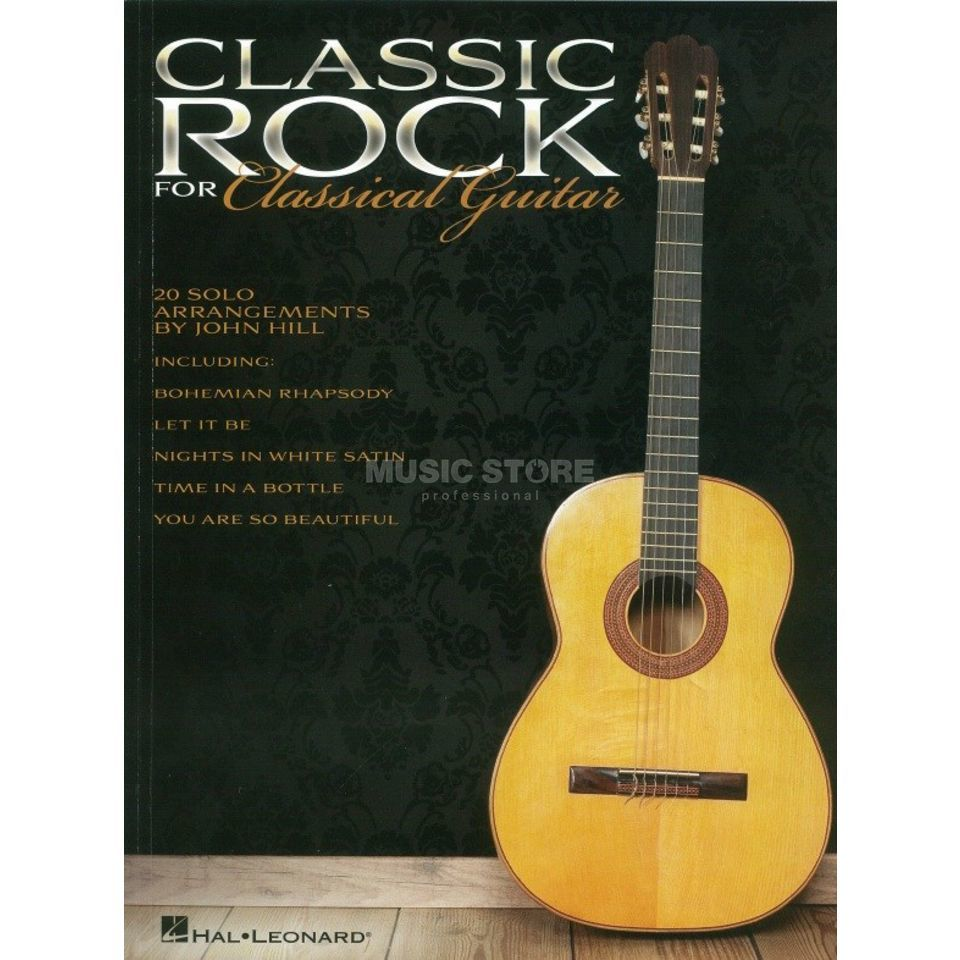 Hal Leonard Classic Rock For Classical Guitar Produktbillede