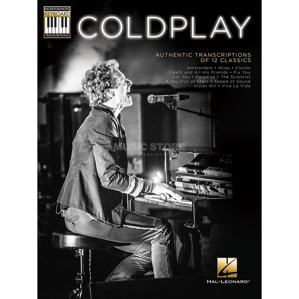 Hal Leonard Coldplay: Authentic Transcriptions Keyboard Produktbild