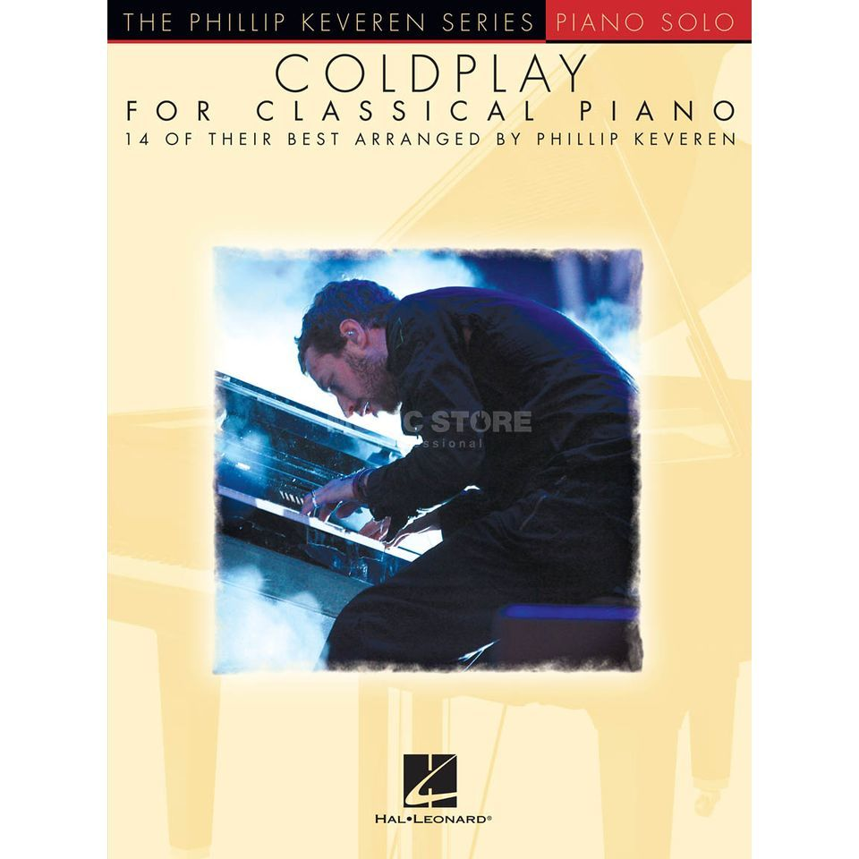 Hal Leonard Coldplay For Classical Piano Product Image