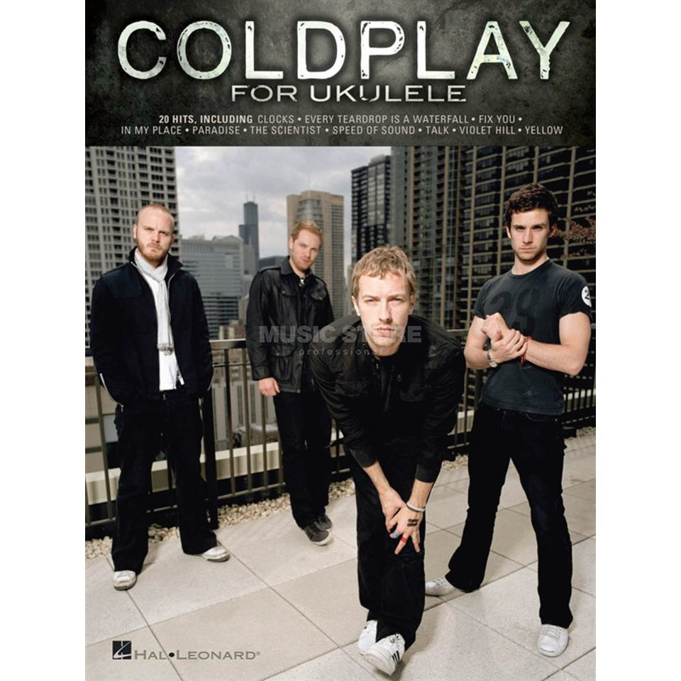 Hal Leonard Coldplay for Ukulele Songbuch Produktbillede
