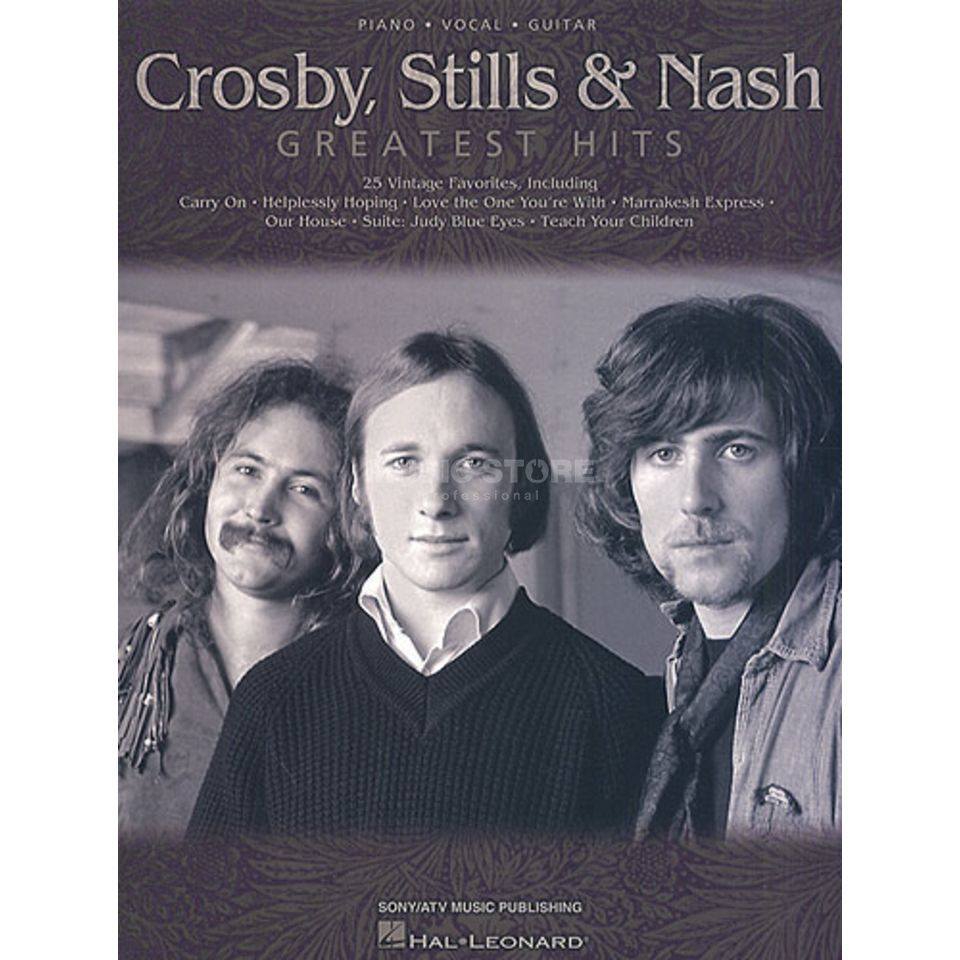Hal Leonard Crosby, Stills & Nash: Greatest Hits Produktbillede