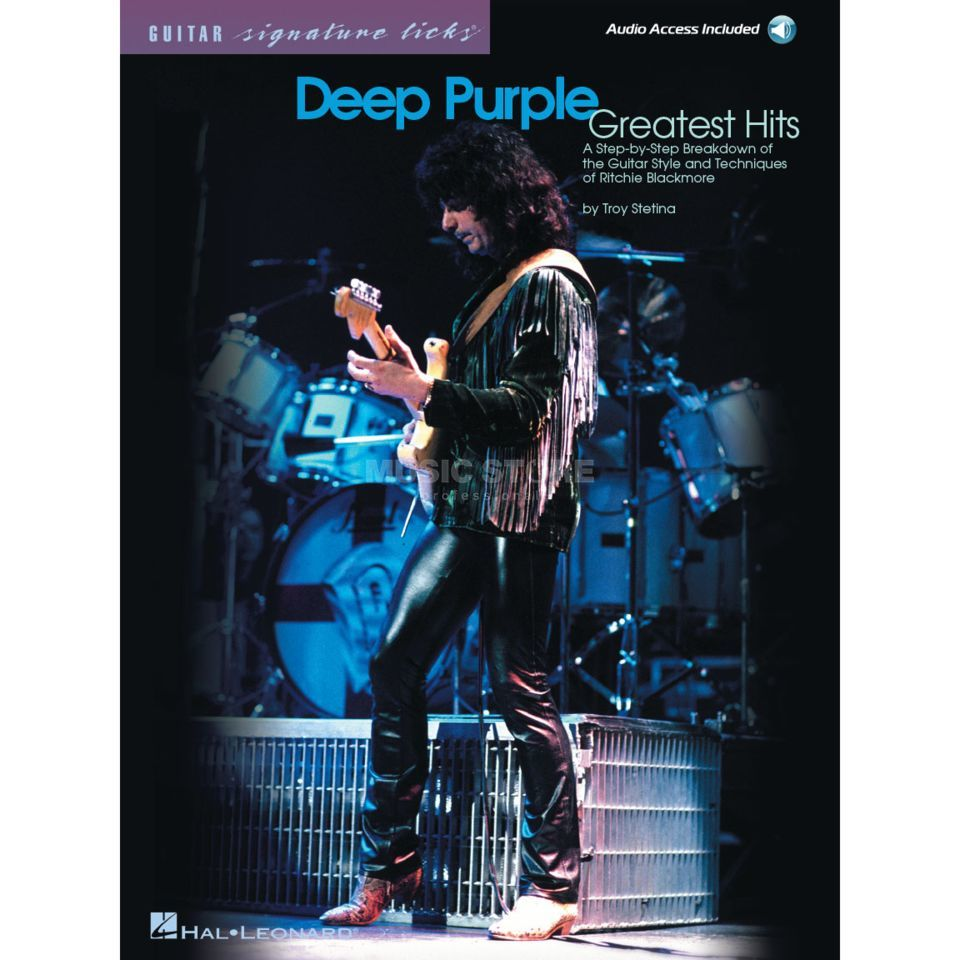 Hal Leonard Deep Purple: Greatest Hits Immagine prodotto