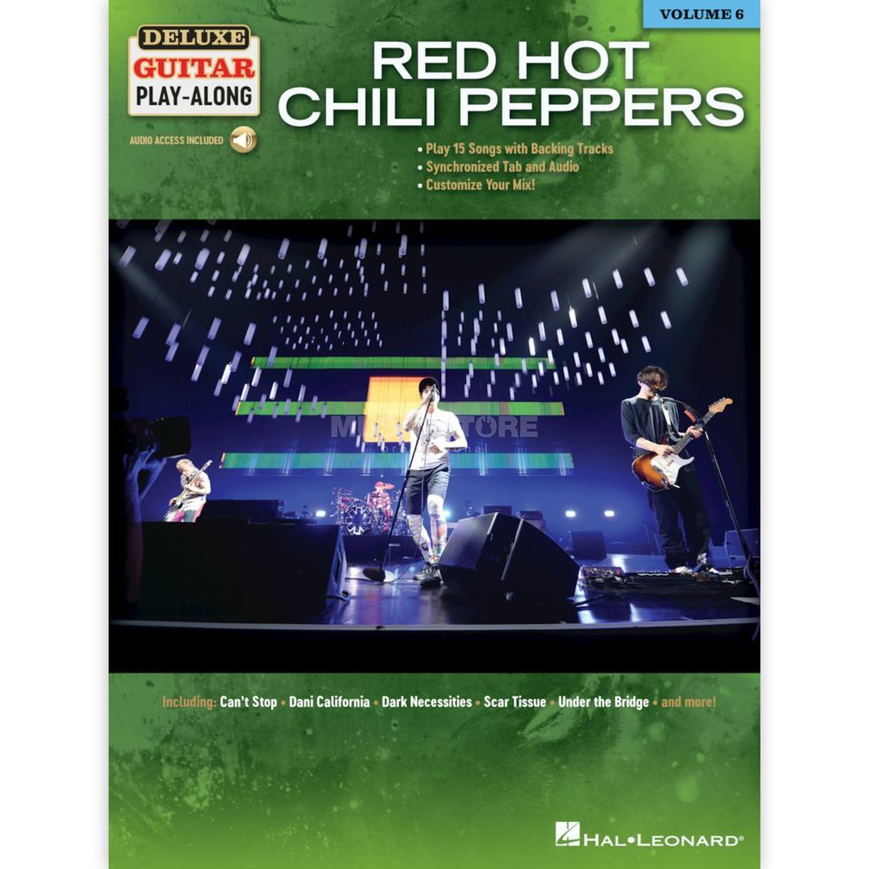 Hal Leonard Deluxe Guitar Play Along Red Hot Chili Peppers