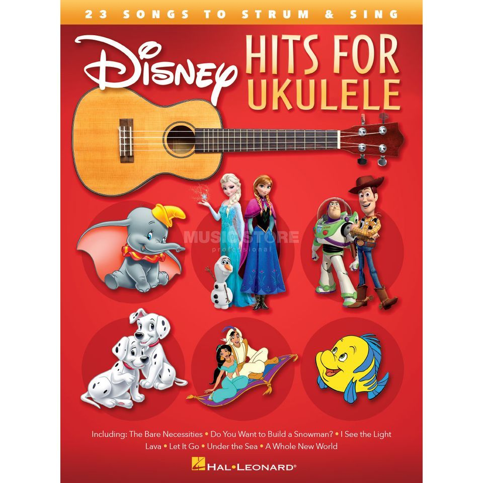 Hal Leonard Disney Hits For Ukulele Produktbild