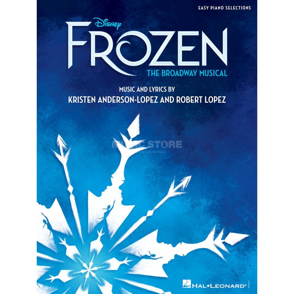 Hal Leonard Disney's Frozen: The Broadway Musical Product Image