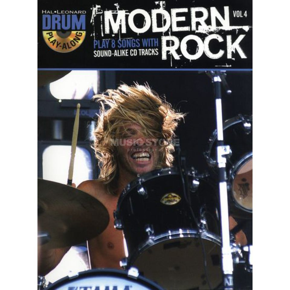 Hal Leonard Drum Play-Along: Modern Rock Vol. 4 Produktbild