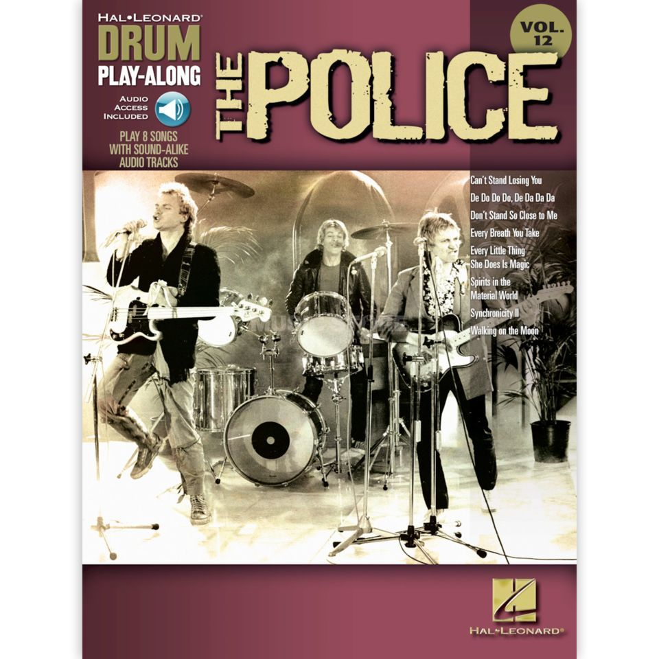Hal Leonard Drum Play-Along: The Police Vol. 12 Produktbild