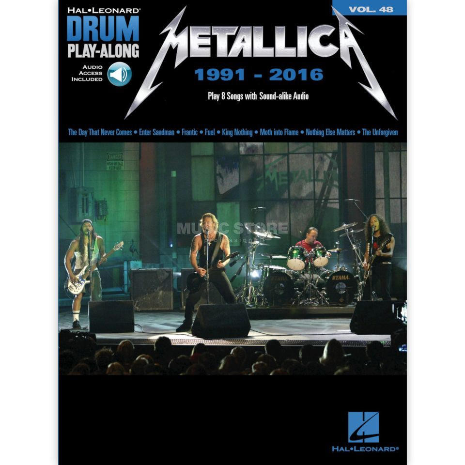 Hal Leonard Drum Play Along Volume 48: Metallica 1991-2016 Produktbild