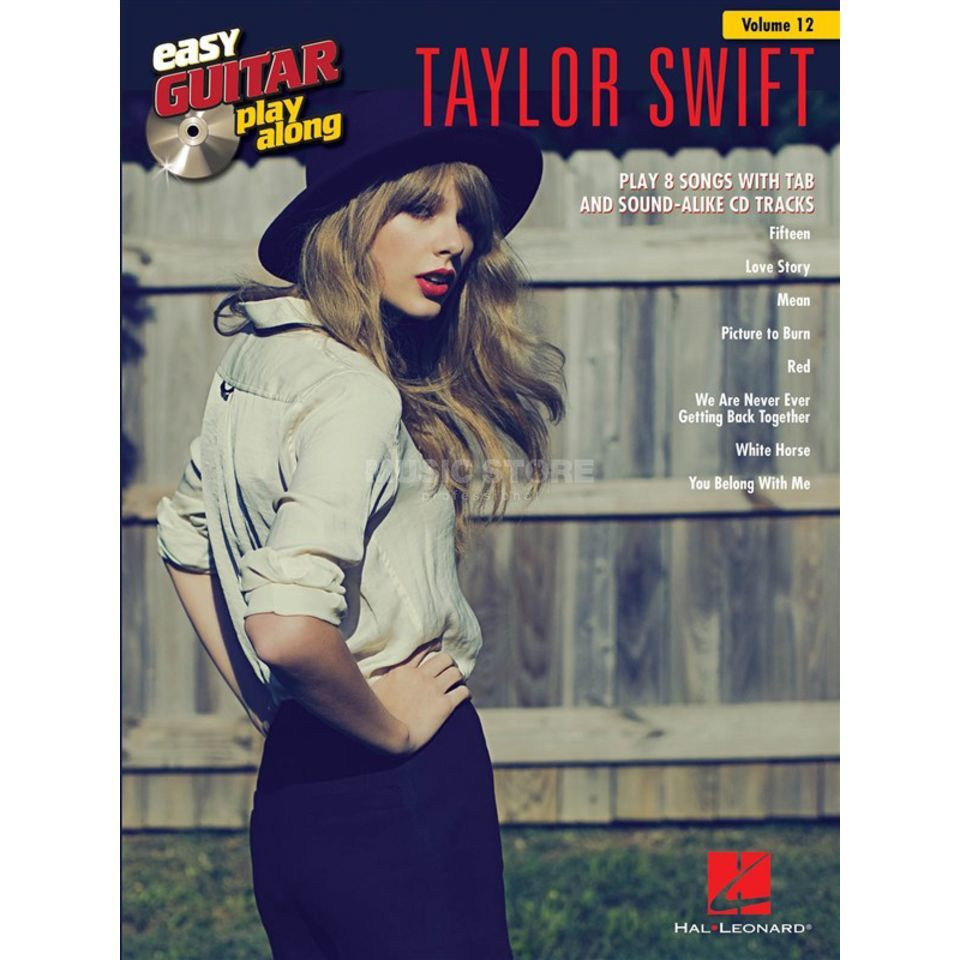 Hal Leonard Easy Play Along: Taylor Swift Vol. 12, TAB und CD Produktbillede