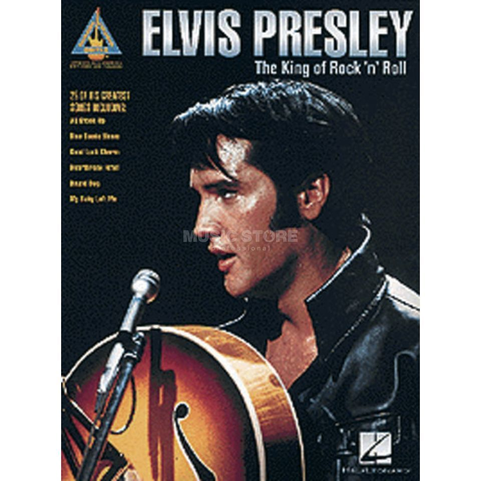 Hal Leonard Elvis Presley: The King Of Rock´n´Roll TAB Produktbillede