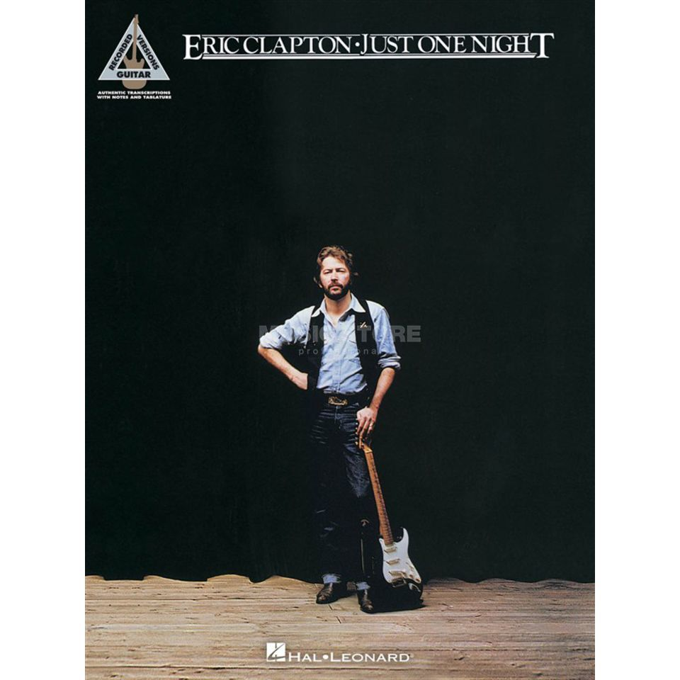 Hal Leonard Eric Clapton - Just one night Guitar Recorded Version Produktbild