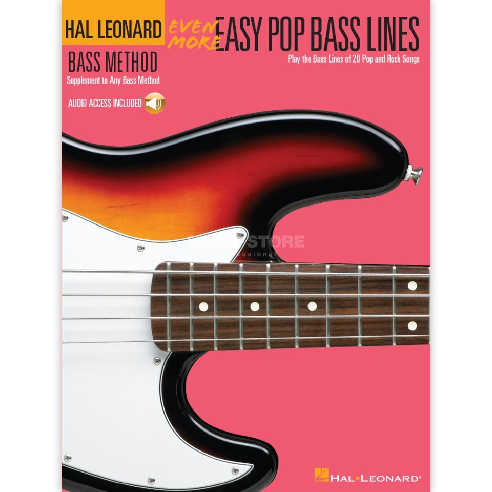 Hal Leonard Even More Easy Pop Bass Lines inkl. CD Produktbild