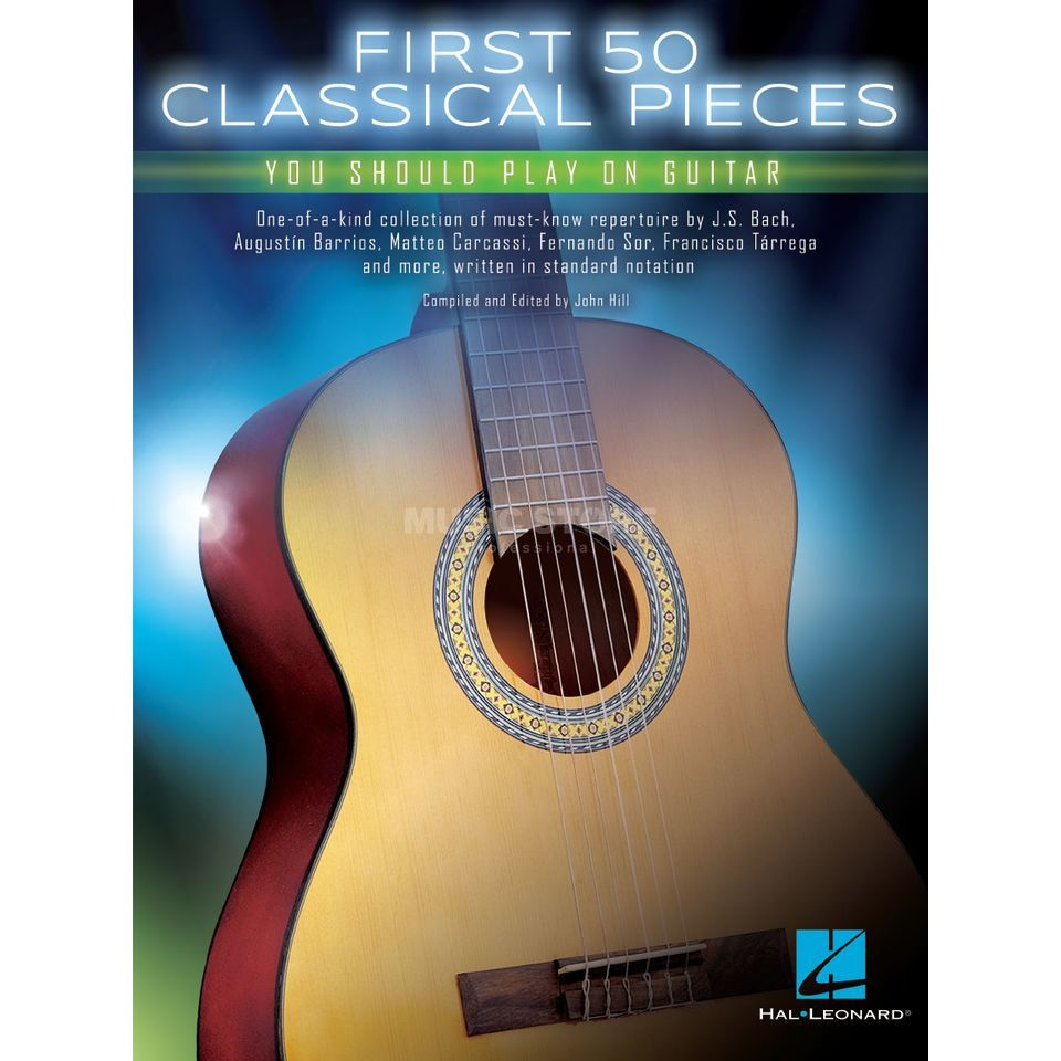 Hal Leonard First 50 Classical Pieces You Should Play On Guitar Product Image