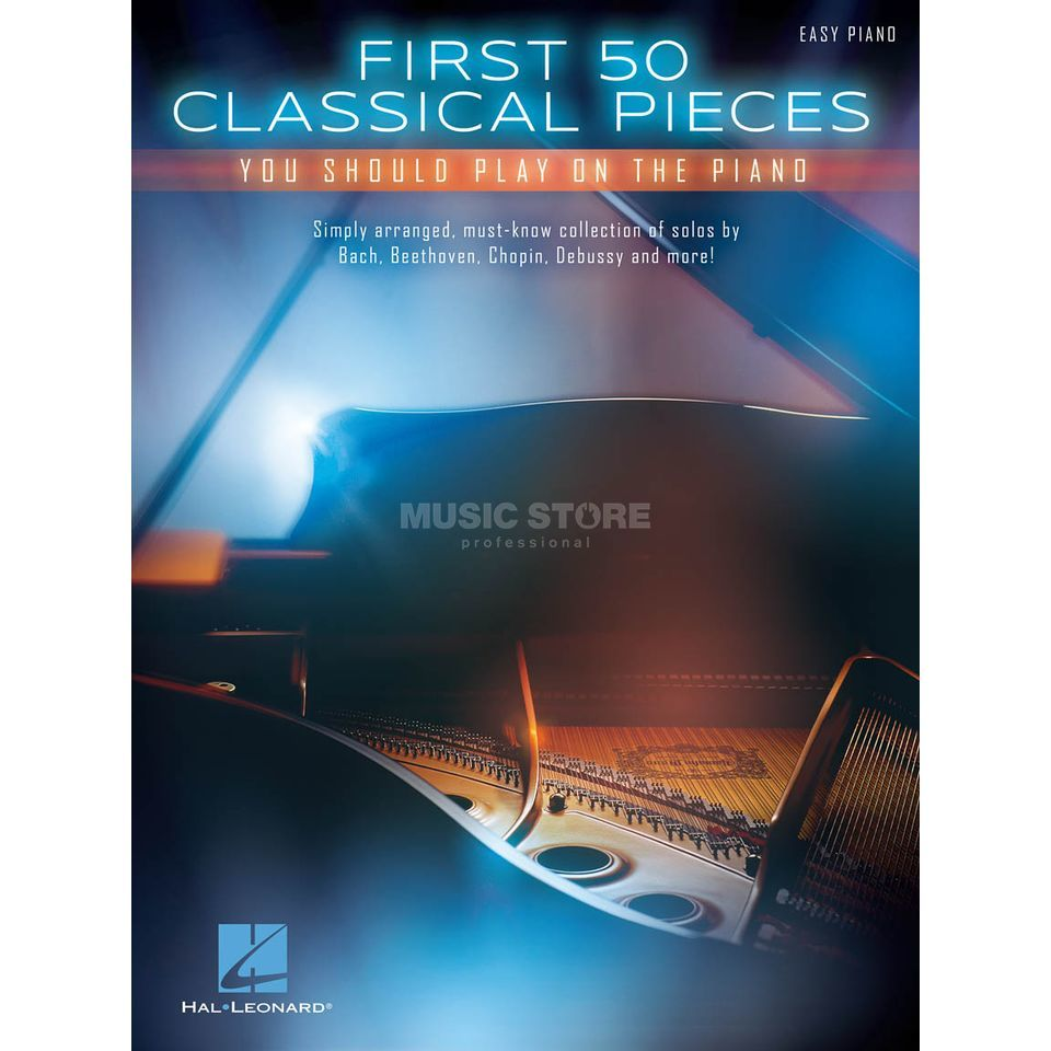 Hal Leonard First 50 Classical Pieces You Should Play On The Piano Produktbillede