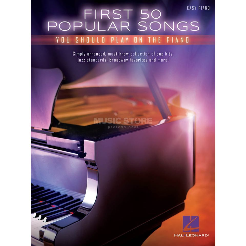 Hal Leonard First 50 Popular Songs You Should Play On The Piano Produktbild