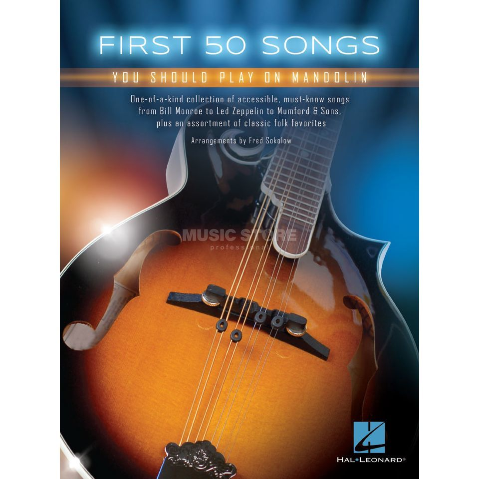 Hal leonard first 50 songs you should play on mandolin hexwebz Images