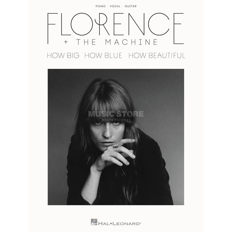 Hal Leonard Florence + The Machine: How Big, How Blue, How Beautiful PVG Produktbild