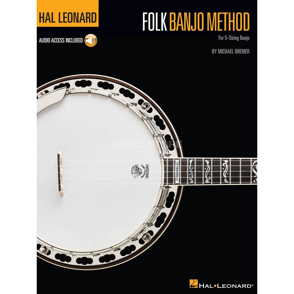 Hal Leonard Folk Banjo Method Book, Online Audio Produktbillede