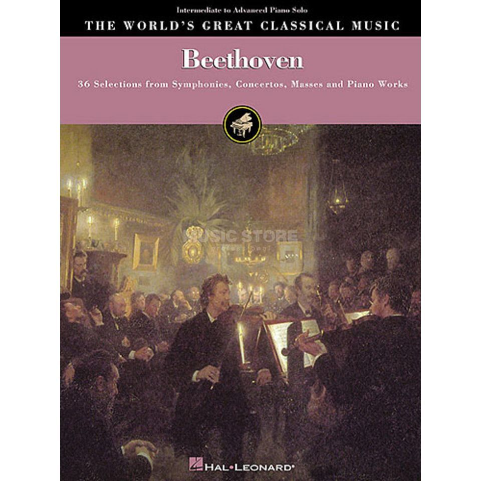 Hal Leonard Great Classical: Beethoven Piano Produktbillede